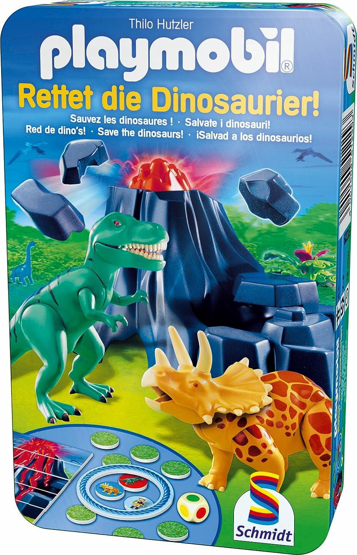 Schmidt Spiele 51229 - Playmobil, Rettet die Dinosaurier! unbekannt B002GYV9R6 Non Books Reisespiele