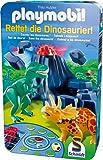 Schmidt Spiele 51229 - Playmobil, Rettet die Dinosaurier!