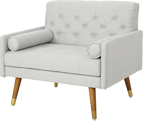 Christopher Knight Home Nour Fabric Mid-Century Modern Club Chair Review