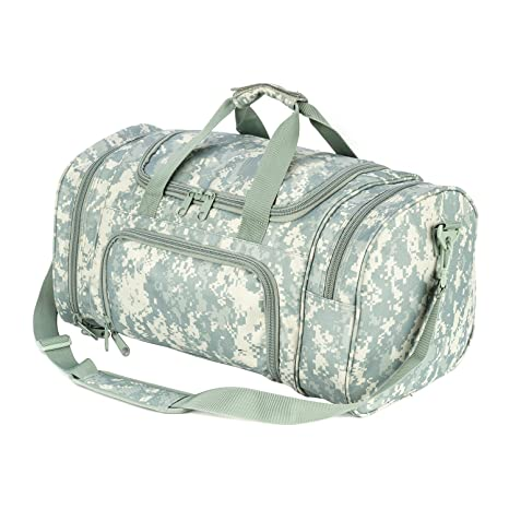 ARMYCAMOUSA Military Tactical Duffle Bag Gym Travel Hiking   Trekking Sports  Bag with Shoes Compartment ( 1ae4ddd9b901a