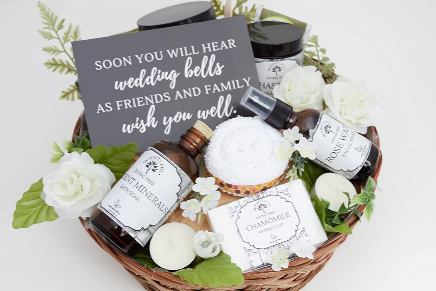 Amazon.com: Engagement Gift Basket, Bridal Shower Gift, Bride to Be ...