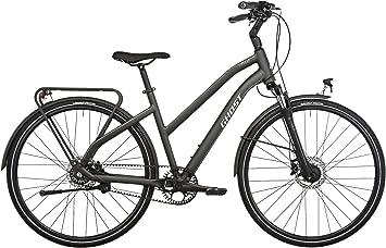 Ghost Square Trekking 7 Miss - Bicicletas trekking - negro/Plateado ...