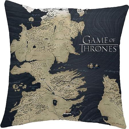 3 diseños disponibles: selecciona entre 3 hermosos patrones – mapa de Westeros (azul, crests y símbo