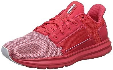 42e15b516615 Puma Women s Enzo Street WN s Paradise Pink and White Running Shoes-3.5  UK India