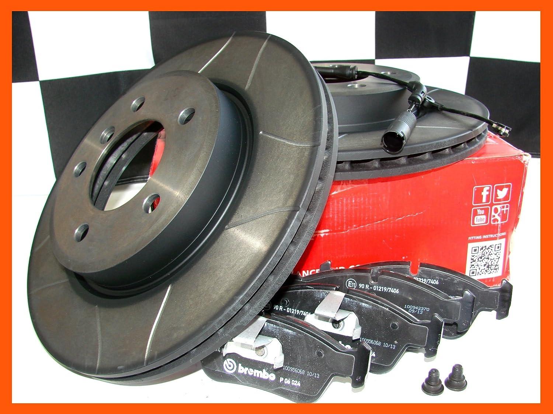 BREMBO MAX Sport Bremsscheiben /à/ 262mm Bel/äge vorn Civic CRX III EG2 EH6