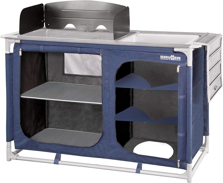 Brunner Mercury CTW - Armario para Camping, Color Azul