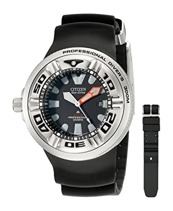 Citizen Men's BJ8050-08E Eco-Drive Professional Diver Sport Watch