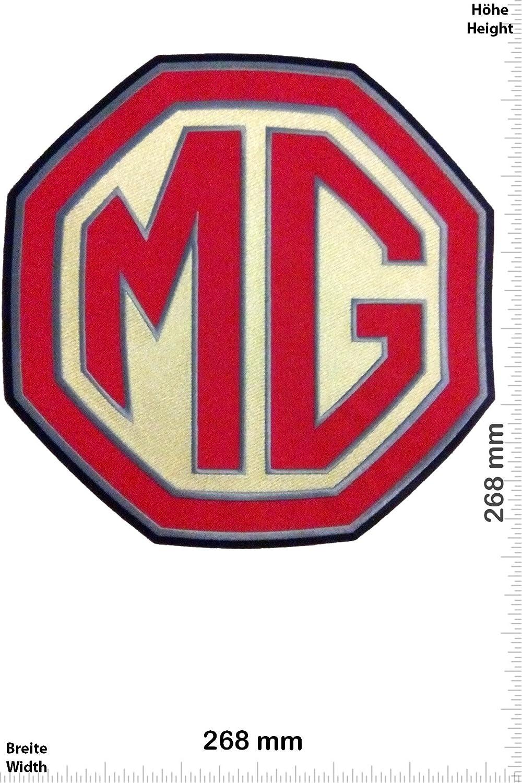 Aufn/äher 26 cm Motorsport Motorsport Iron On Patch zum aufb/ügeln Bigpatch MG