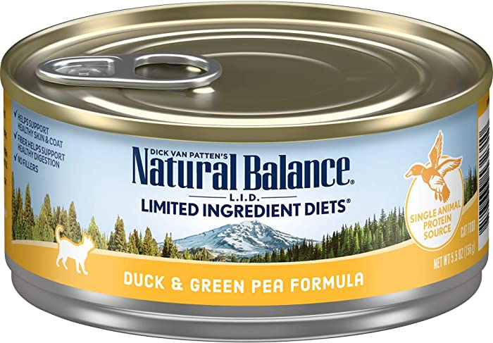 Top 9 Nature Balance Limited Ingredient Cat Food