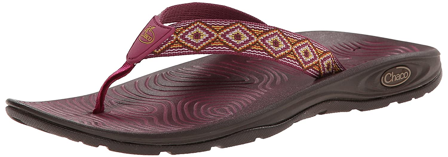 Chaco Women's Zvolv Flip Sport Sandal B00KWKC0DS 5 B(M) US|Linked Diamonds