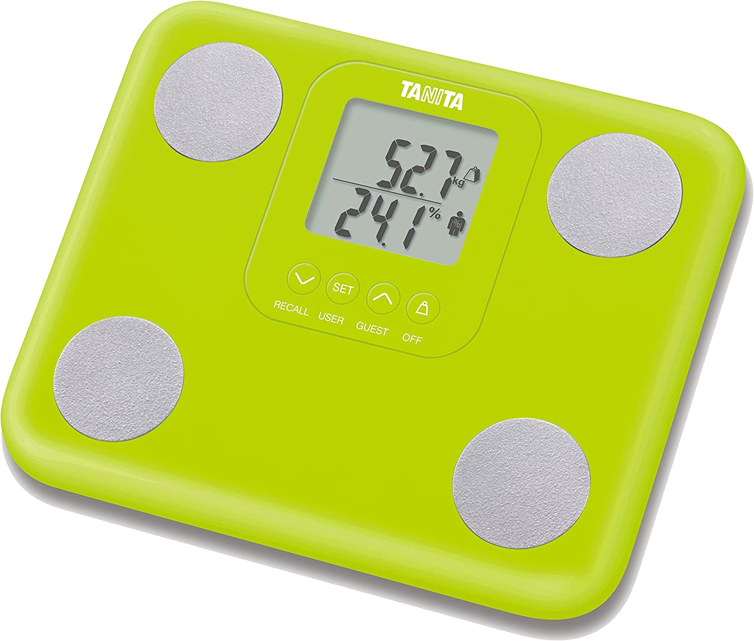 Tanita BC730G InnerScan Body Composition Monitor Green: Health & Personal Care