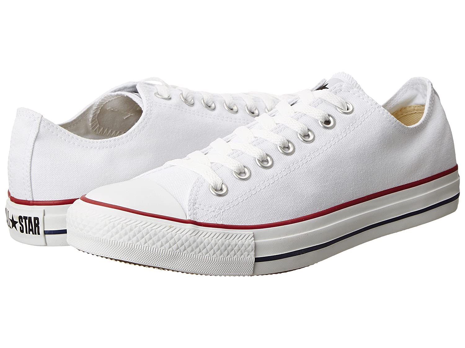 Converse Unisex Chuck Taylor All Star Ox Basketball Shoe B077PRLYD1 9.5 B(M) US Women / 7.5 D(M) US Men|Opt. White