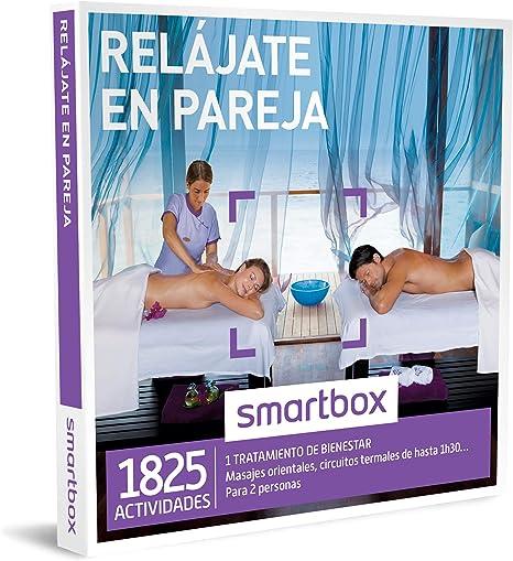 Smartbox - Caja Regalo -RELÁJATE EN Pareja - 1825 experiencias como masajes orientales, chocolaterapia o SPA de hasta 1h30: Amazon.es: Deportes y aire libre