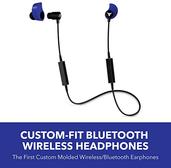 07428837d8e Image Unavailable. Image not available for. Color: Decibullz - Custom-Fit  Bluetooth Wireless Headphones ...