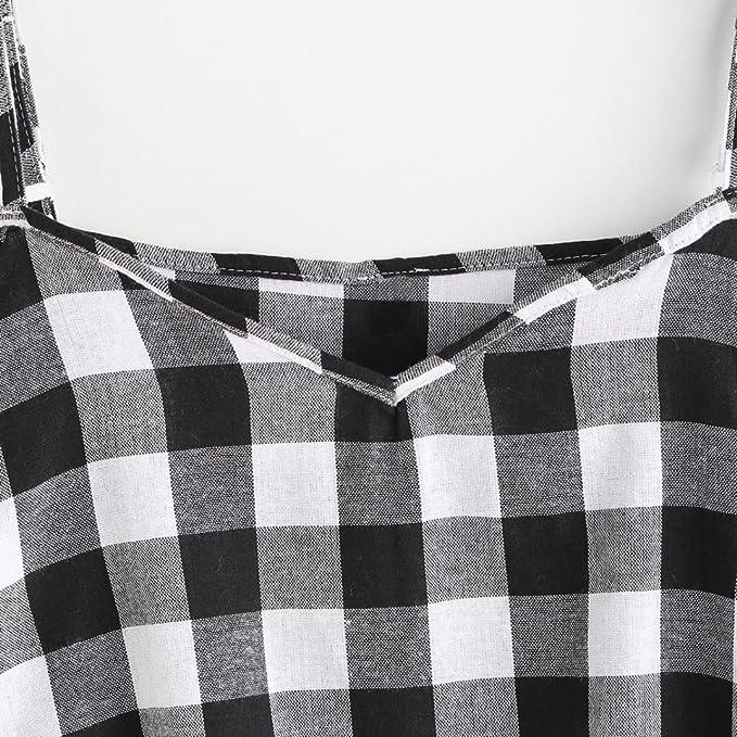 Kangma Tees&Blouse&Sweatshirt Kangma Women Summer Pinstripe Cold Shoulder Sleeveless Crop Cami Tank Top Shirt Gray at Amazon Womens Clothing store: