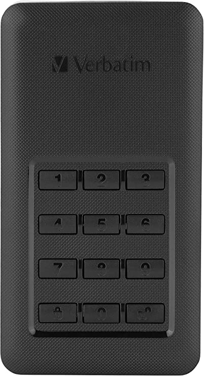SSD 256 GB USB 3.1, USB-C, Disco Duro Externo cifrado con Teclado ...