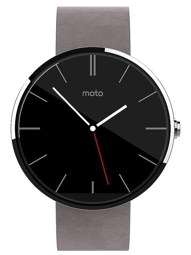 Motorola Moto 360 Montre connectée Compatible avec Smartphone Gris: Amazon.fr: High-tech