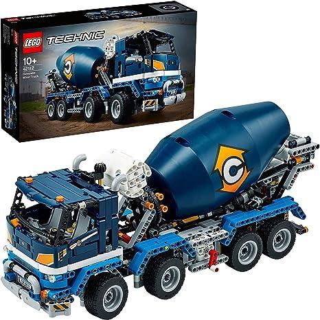 LEGO42112TechnicCamiónHormigoneraconCubaMezcladoraGiratoria,JuguetedeConstrucciónparaNiños+10años