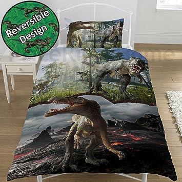Bettwäsche Dinosaurier Jurassic World 135x200 50x70cm Amazonde