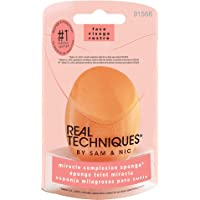 Real Techniques Miracle Complexion Makeup Sponge for full cover foundation (Packaging and Colour May Vary)