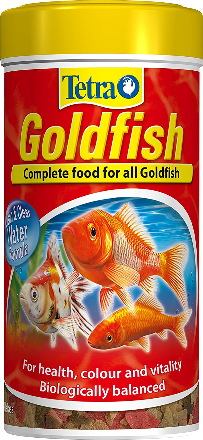 Tetra Goldfish Flakes 250ml (52g) Fish Food High Energy Food for Fishes: Amazon.es: Productos para mascotas