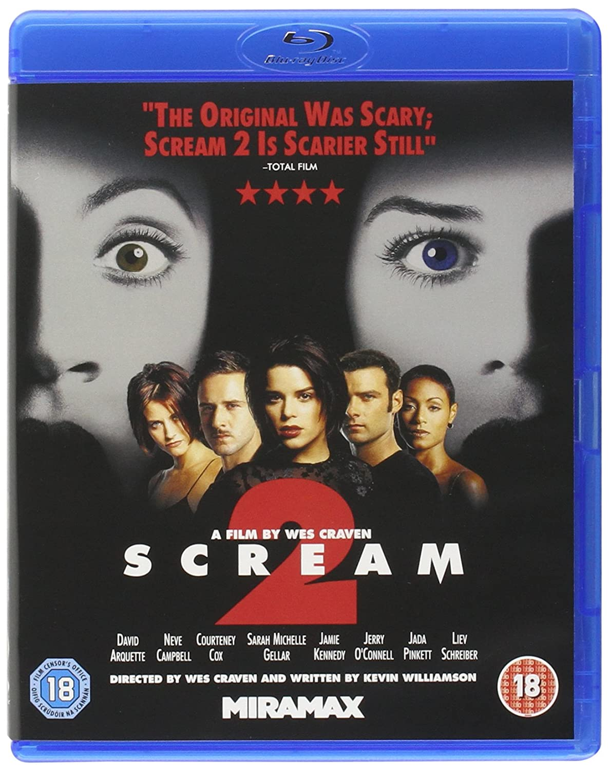 Scream 1-3 [Blu-ray]: Amazon co uk: David Arquette, Neve Campbell