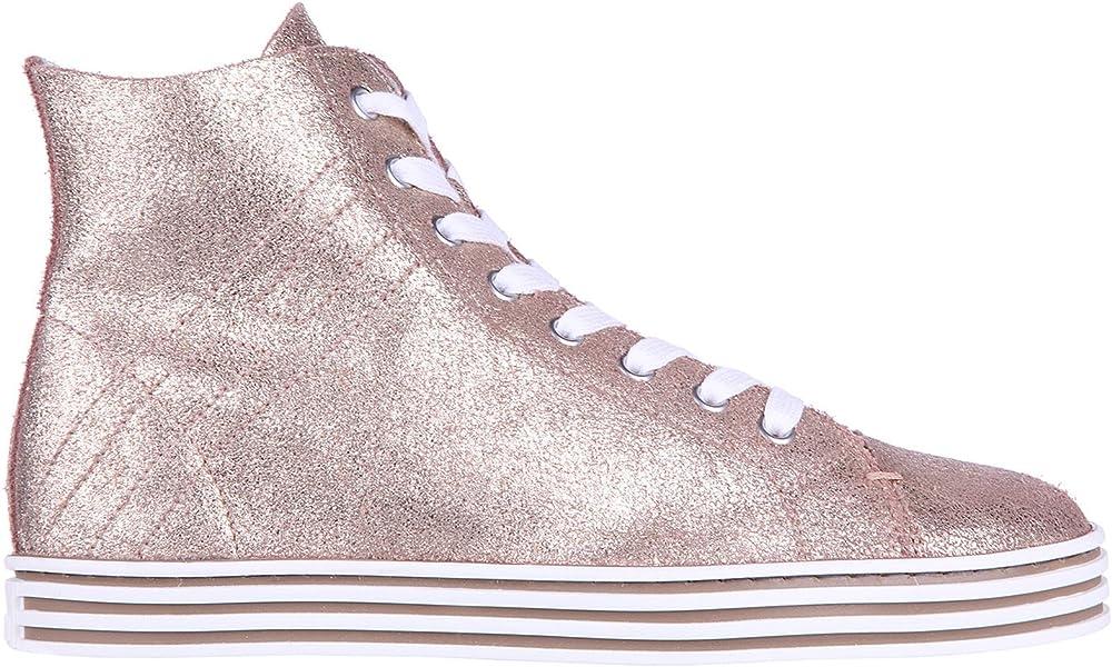 Hogan Rebel Sneakers Alte R182 Donna Talco 37.5 EU  Amazon.it ... a90f044e7ce