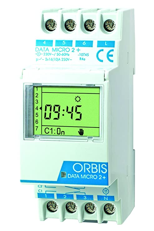 Orbis Data Micro-2 Plus 12 V de distribución Digital de Temporizador, OB171972N