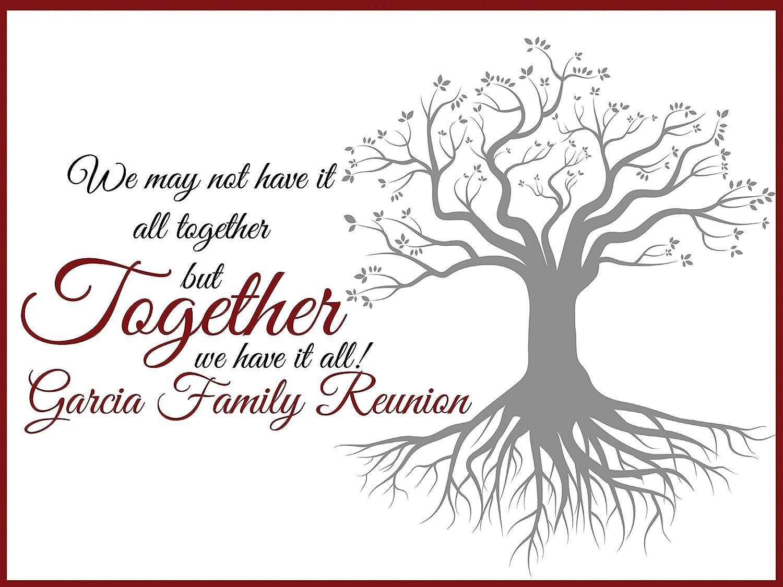 Amazon Com Family Reunion Decorations Size 24x36 48x24 48x36