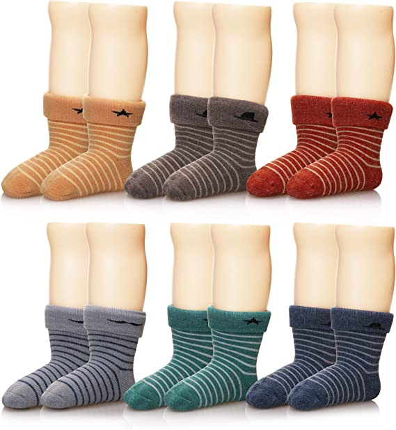 1 pairs Kids White Sock Boy Girl Solid Breathable Cotton Sport Winter Keep warm