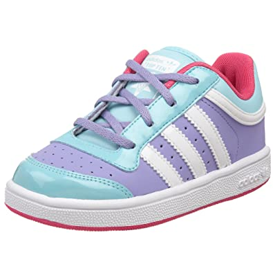 wholesale dealer c8260 eb89c adidas Top Ten Lo Kids Schuhe 24 mpurple/runwht: Amazon.de ...