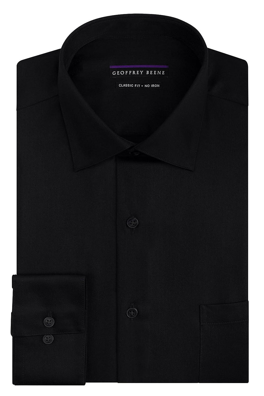 Geoffrey Herren Regular Fit Satin Shirt Beene