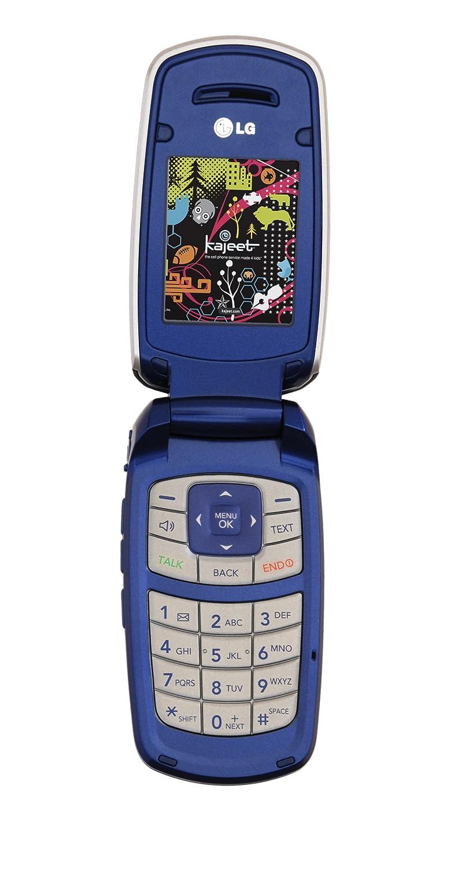 amazon com lg lx 160 prepaid phone blue kajeet cell phones rh amazon com LG User Manual Guide LG Television Manual