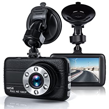 Dash Cam,Bekhic Dash Camera for Cars with Full HD 1080P, 170...