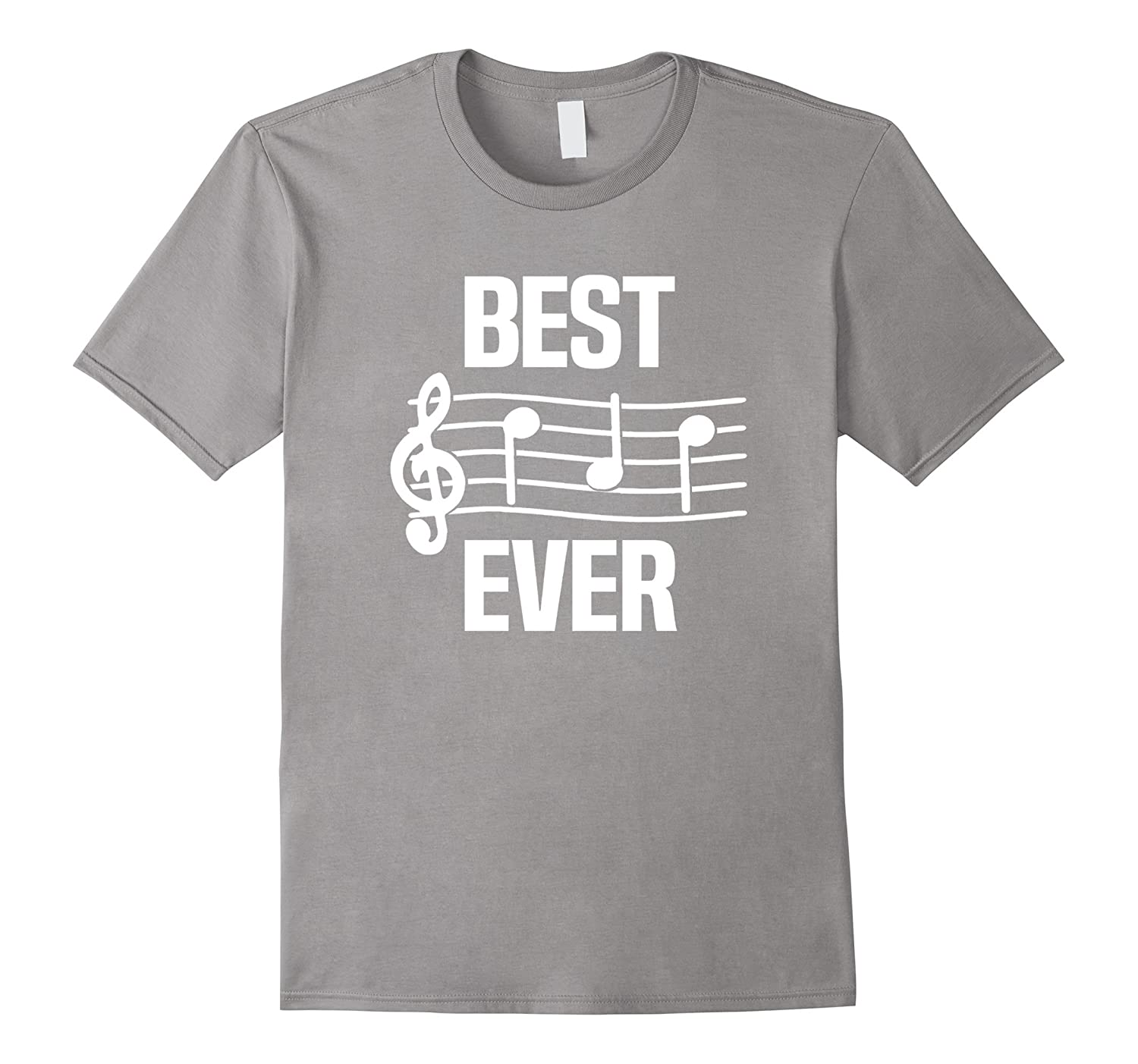 Mens best dad ever music tshirt notes funny fathers day for Best house music ever