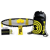 Spikeball Game Set (3 Ball Kit) - Outdoor Indoor Gift for Teens, Family - Yard, Lawn, Beach, Tailgate - Includes Playing Net, 3 Balls, Drawstring Bag, Rule Book- As Seen on Shark Tank