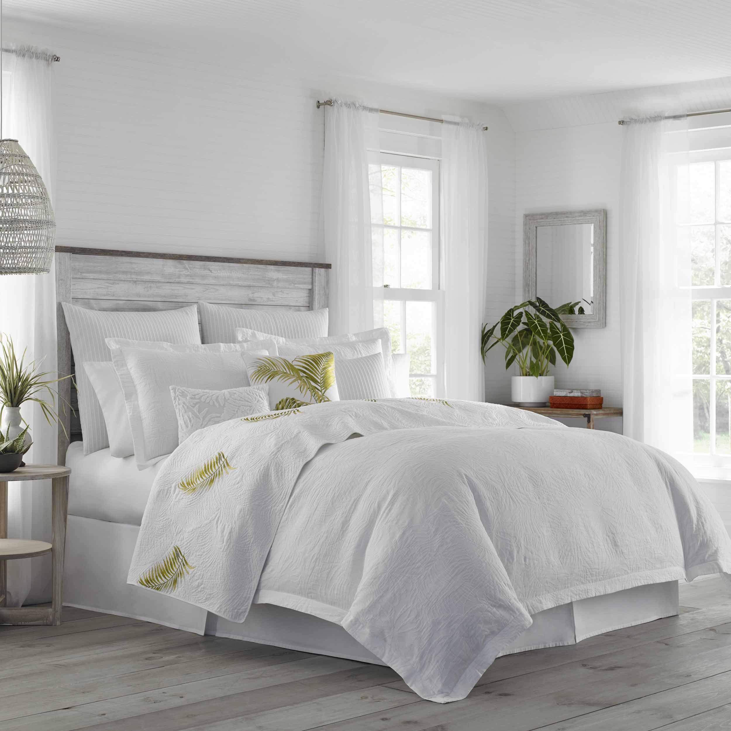 Tommy Bahama St Armands Comforter Set King, White