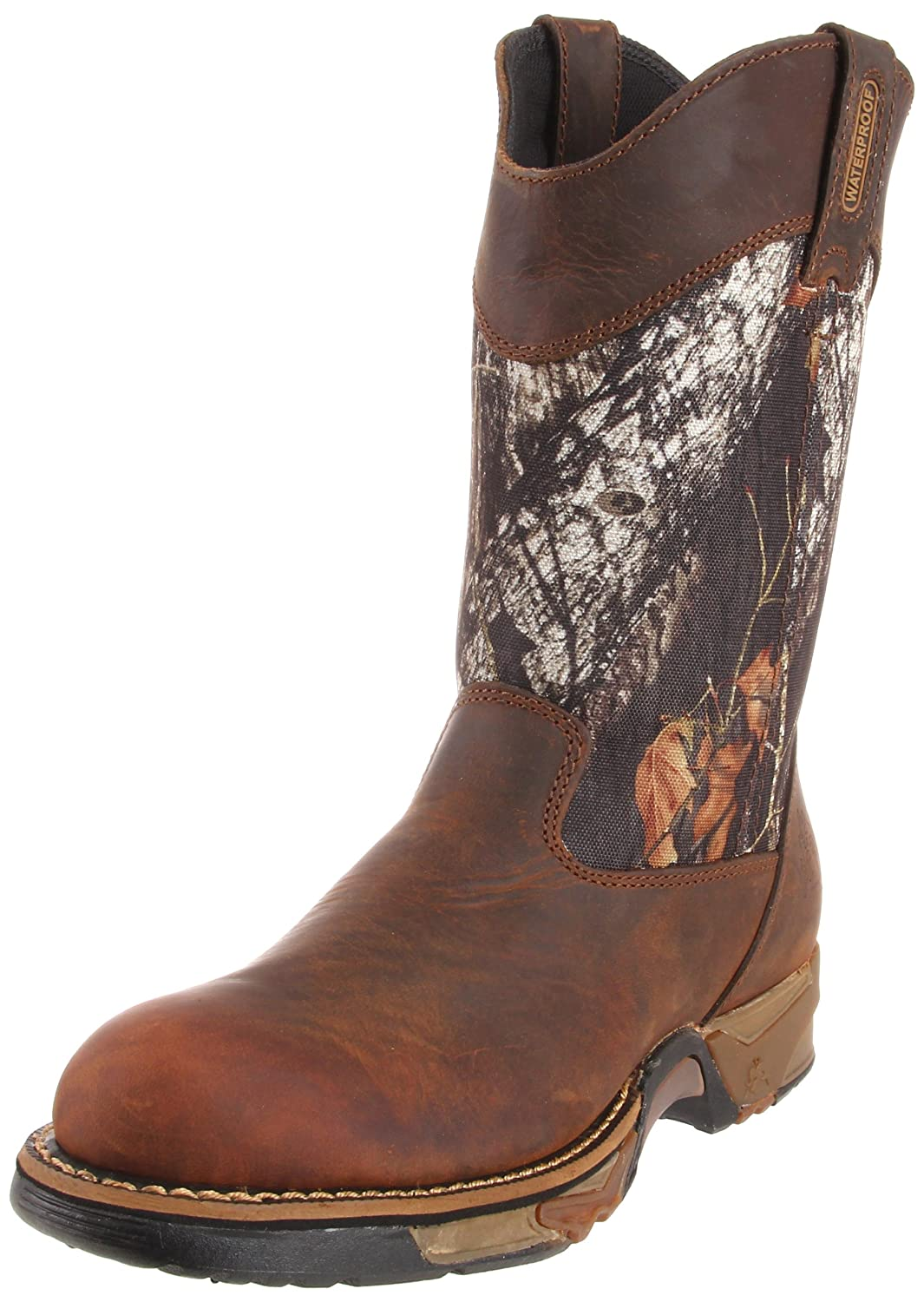 Rocky メンズ B002HXCI4Y 12 D(M) US|Brown/Mossy Oak Breakup Brown/Mossy Oak Breakup 12 D(M) US