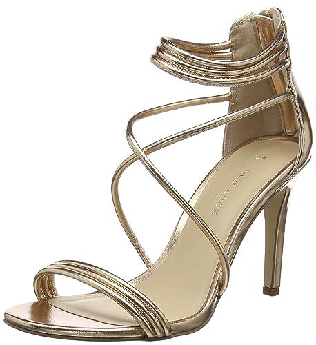 New Look Signal Scarpe con Cinturino alla Caviglia Donna Oro Rose Gold