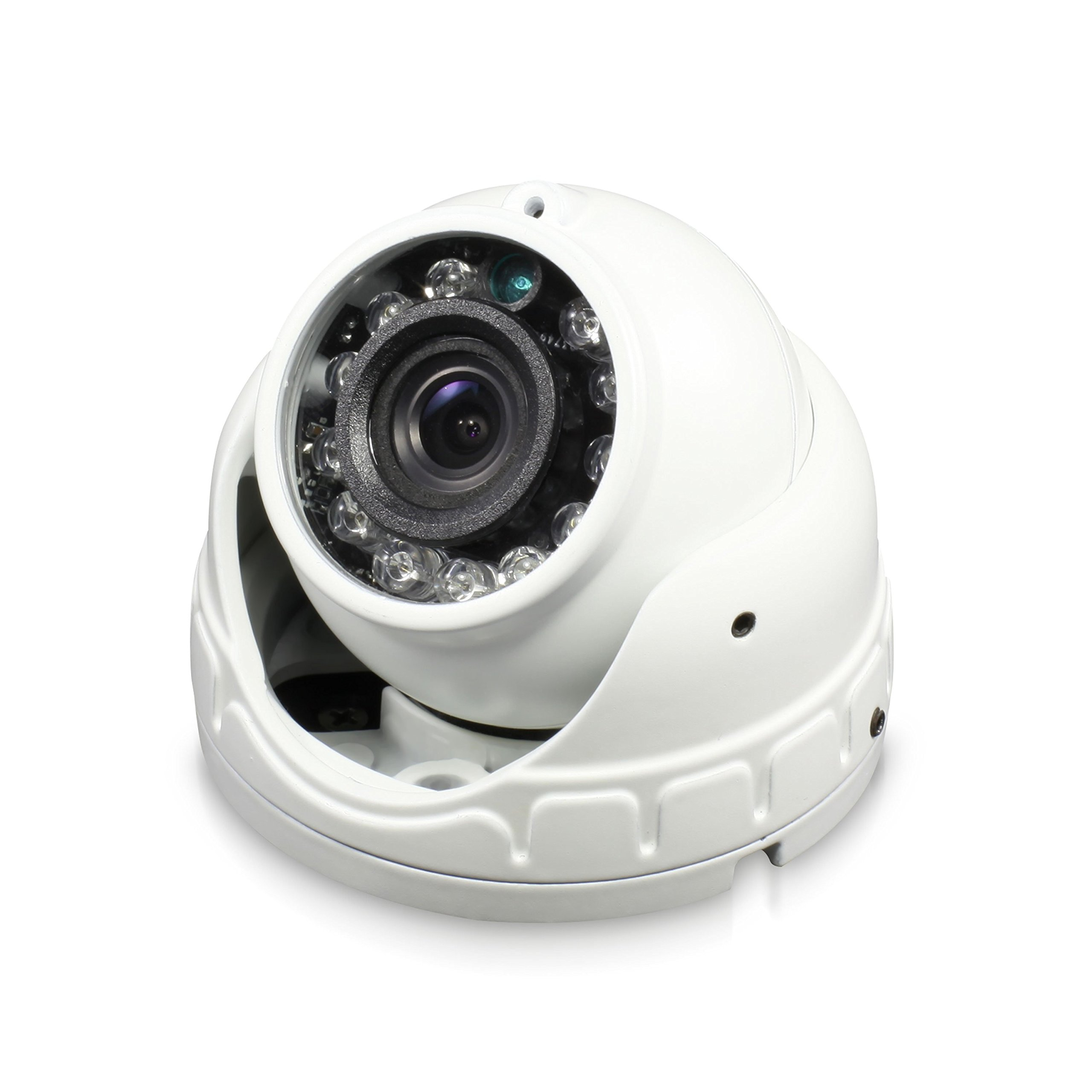 Swann Pro HD Dome Camera, White (SWPRO-1080FLD-US) by Swann