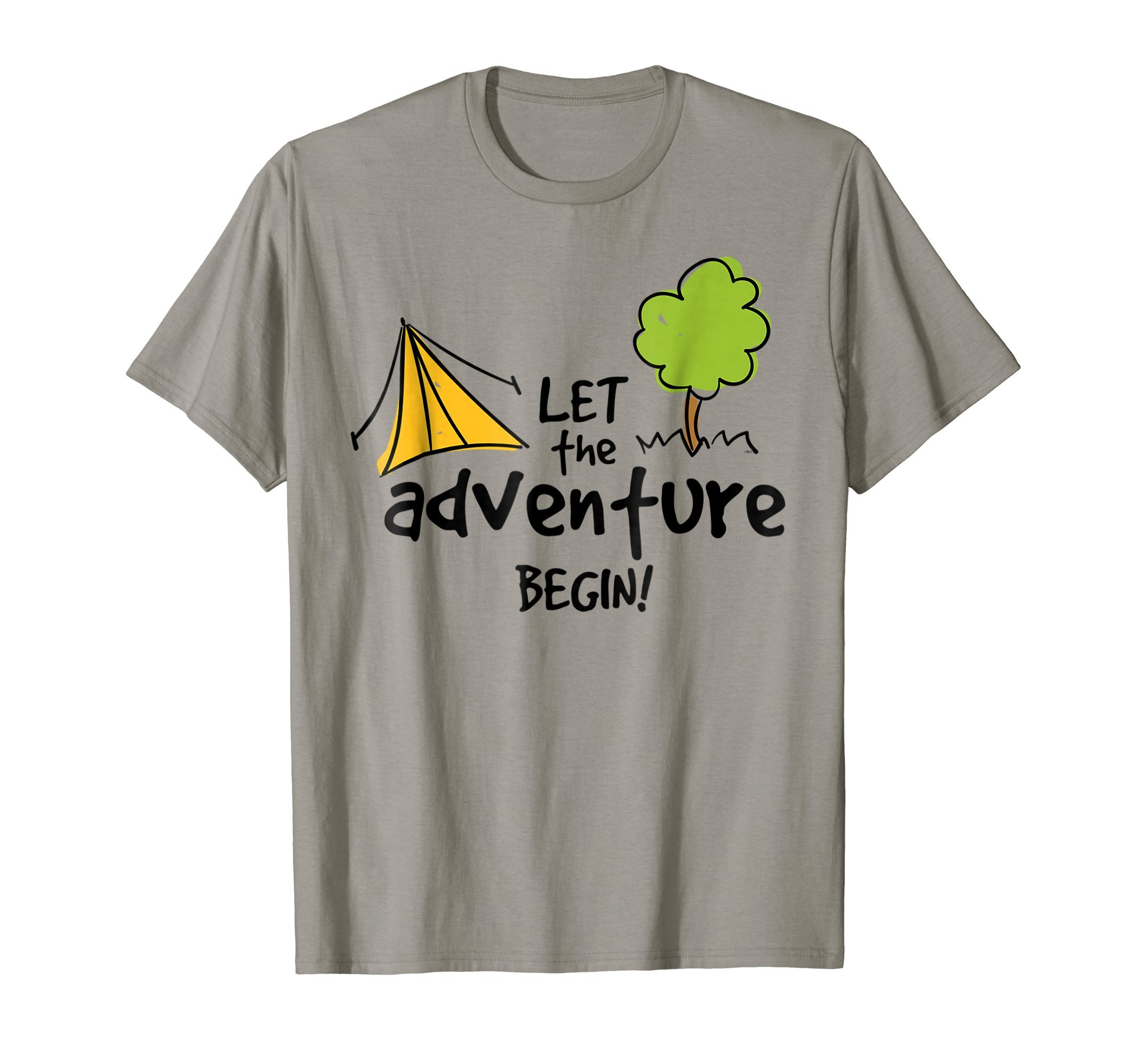 Let-the-adventure-begin-Camping-Fun-T-Shirt-Gift-Tee-Shirt