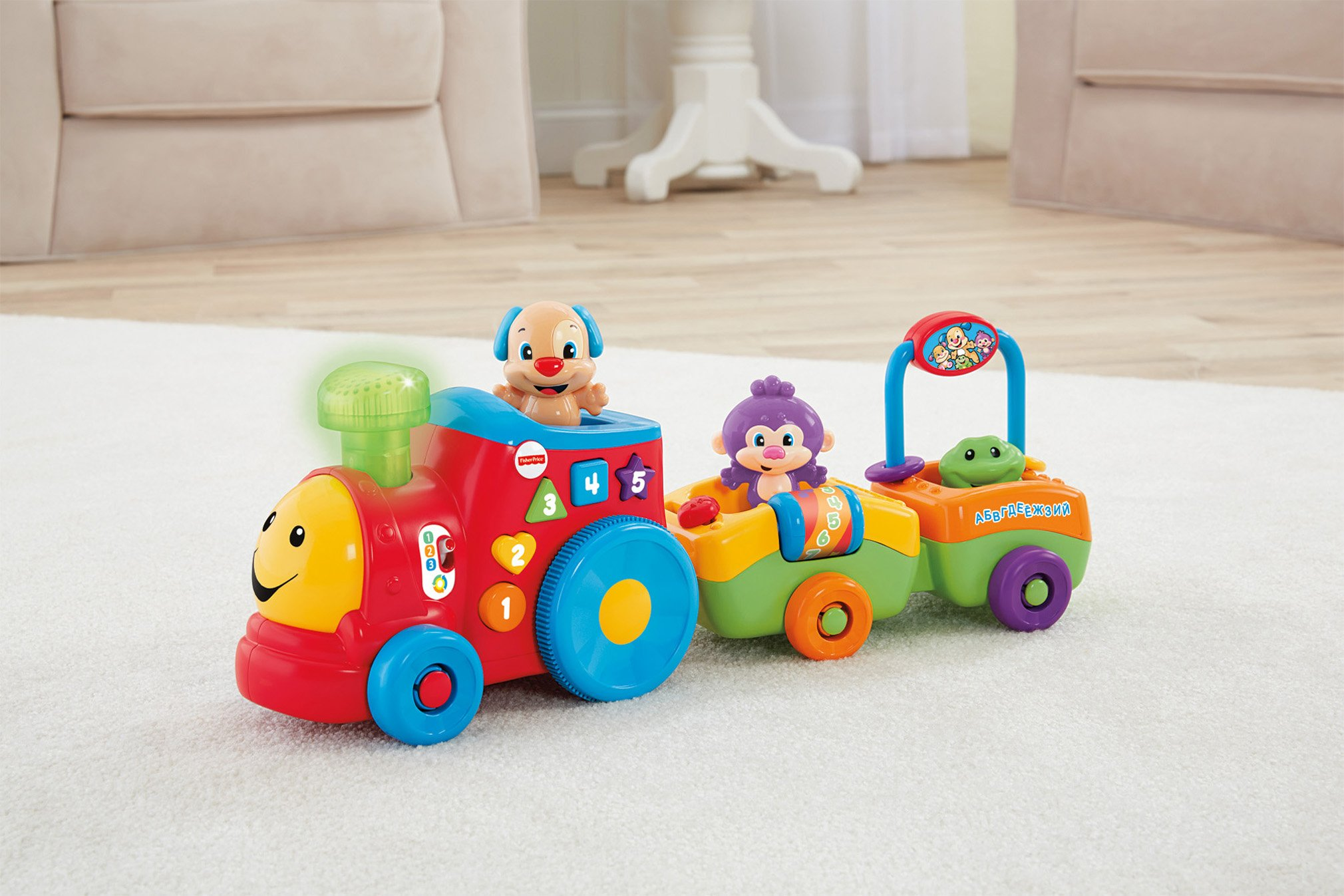 Fisher-Price Laugh & Learn Smart Stages Puppy's Smart Train by Fisher-Price (Image #18)