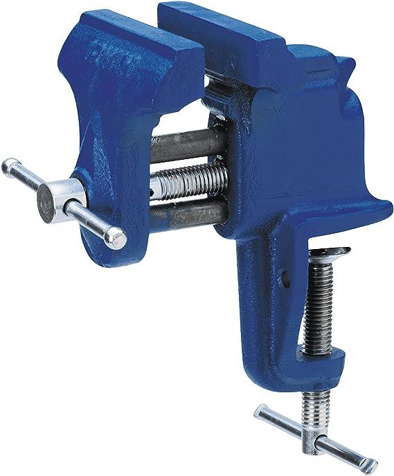 Irwin V75B Tornillo de mesa (75 mm), Azul: Amazon.es: Bricolaje y ...