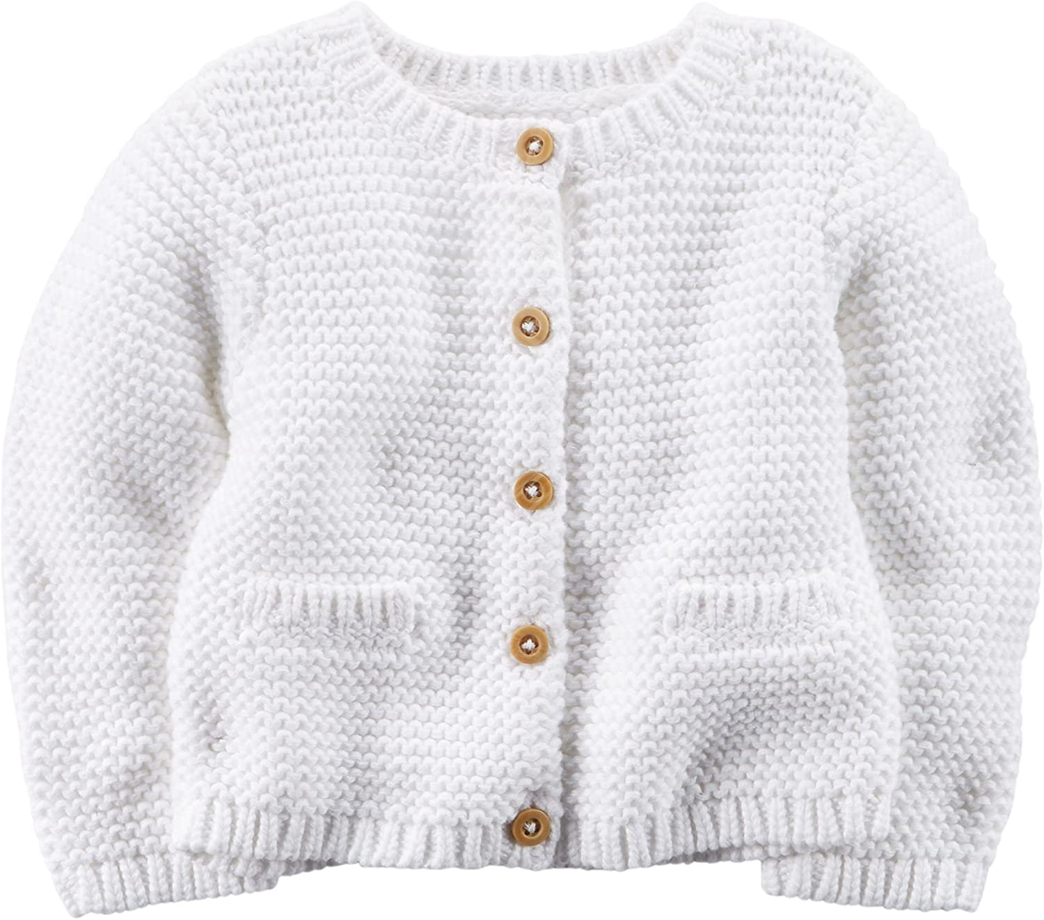 Carters White Sweater babies 3 months old