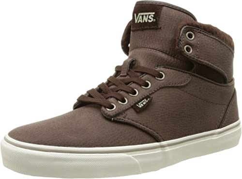 Vans M Atwood Hi Leather, Sneaker Uomo