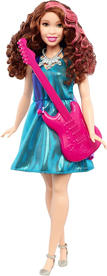 BARBIE I CAN BE POP STAR BAMBOLA 30 CM MATTEL DVF52