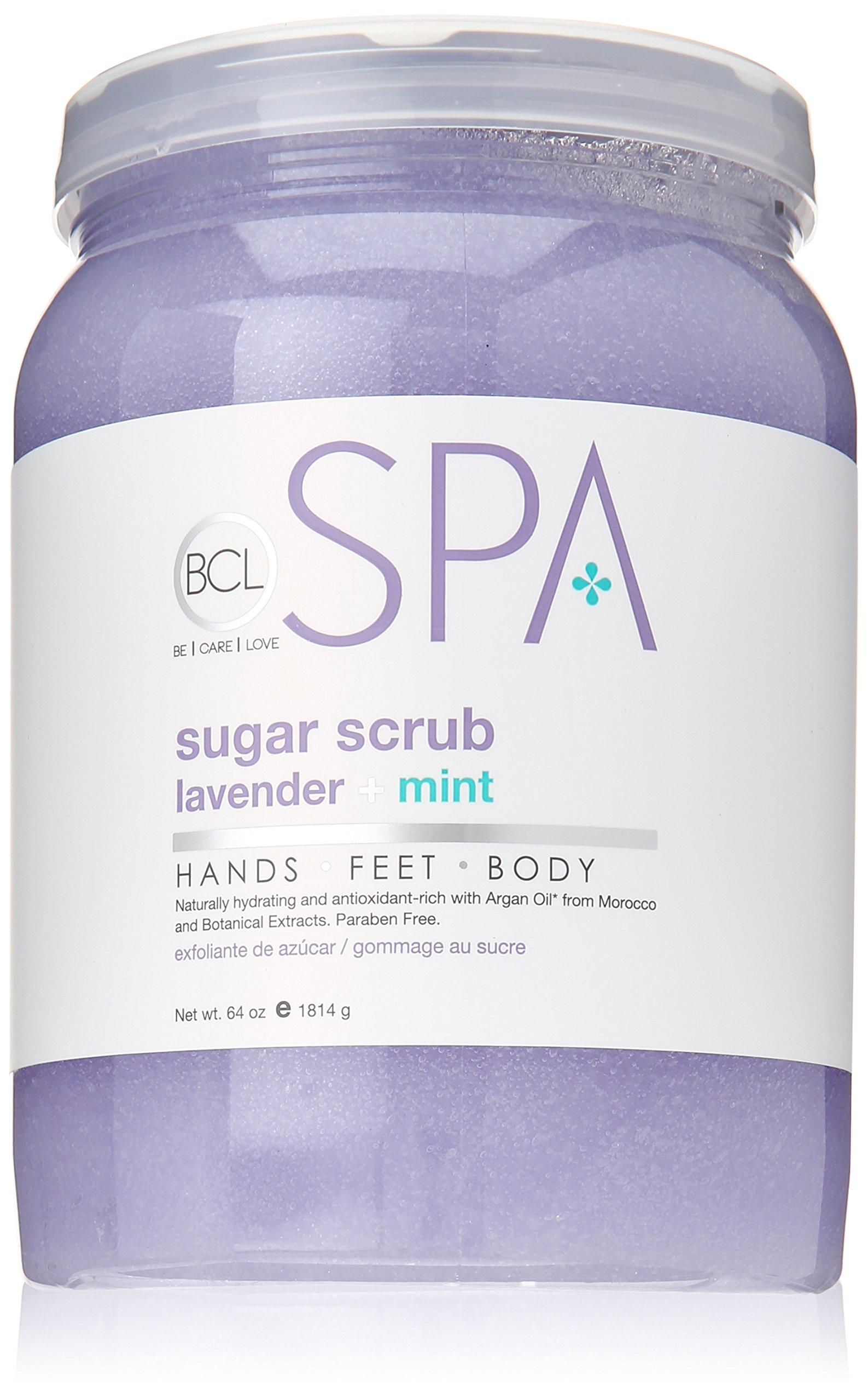 Bio Creative Lab Spa Sugar Scrub, Lavender, 64 Ounce