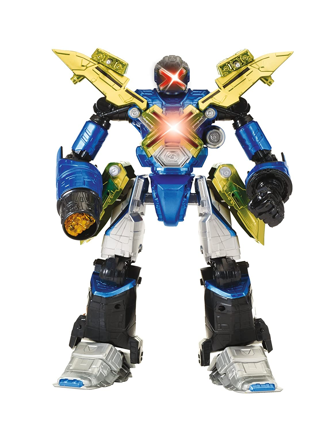 Mech-X4 12 Technopathy Robot /& Mech-Link Band Feature Figure Bandai America Incorporated 37286