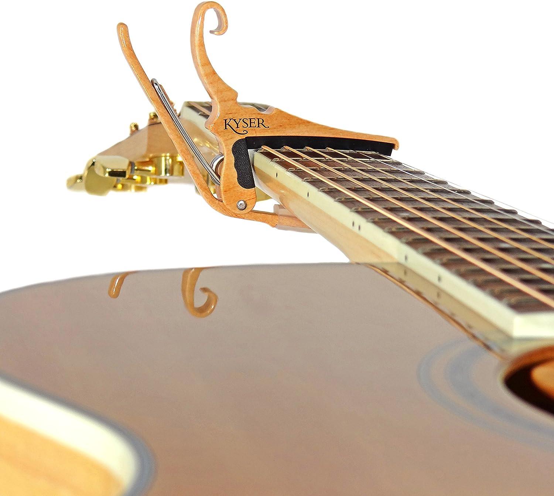 Quick-Change Capo for 6-string acoustic guitars G4V Kyser Guitars for Vets