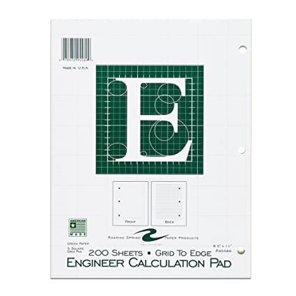 Image result for engineering calculation pad green